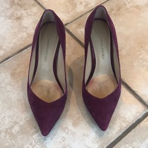 Banana Republic Burgundy Madison Heels